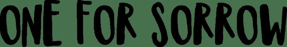 one-for-sorrow-logo-black-tst